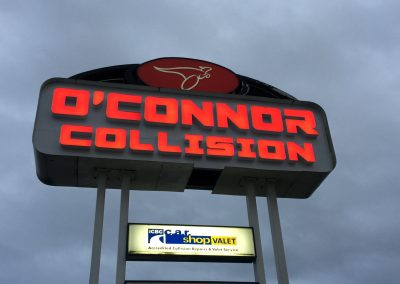 O'Connor Collision – Before & After