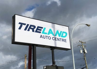 Tireland Sign Installation