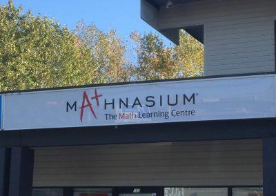 Mathnasium - Panel Sign - Rocket Signs