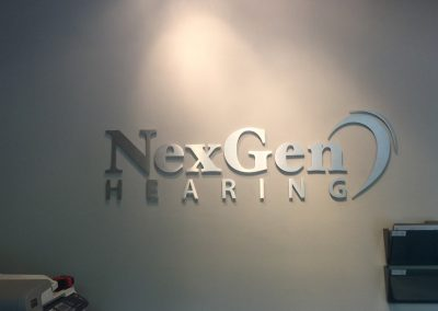 NexGen Raised Letters