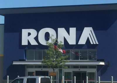 Rona Sign - Rocket Signs