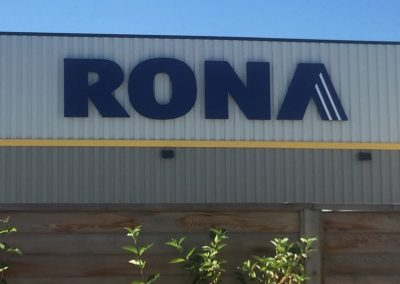 Rona Sign - Channel Letters